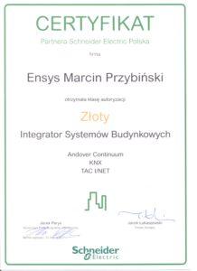 certyfikat-schneider-zloty